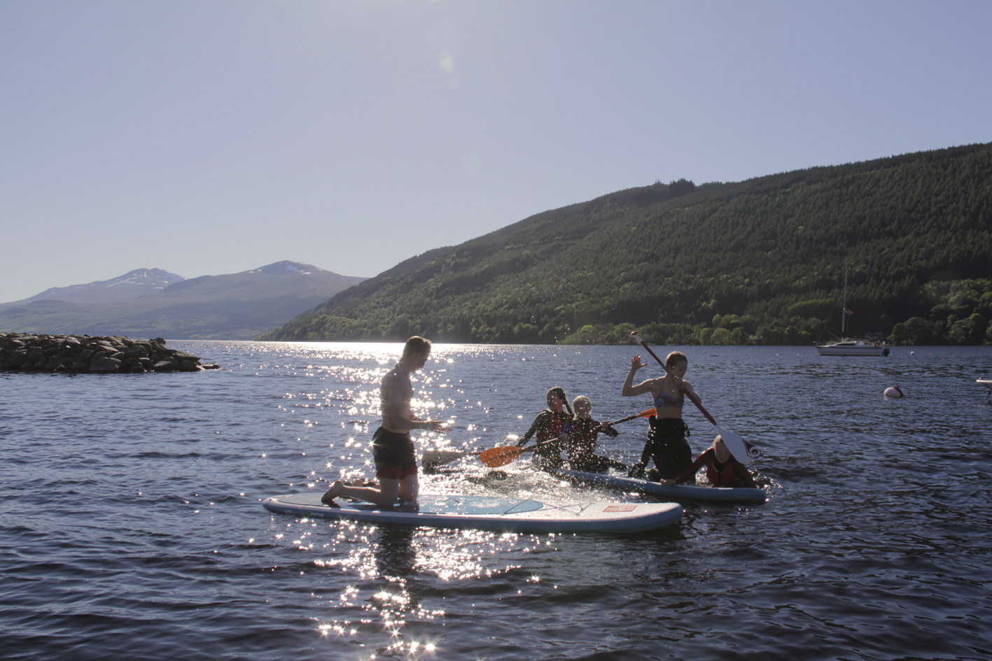 Watersports Loch Tay